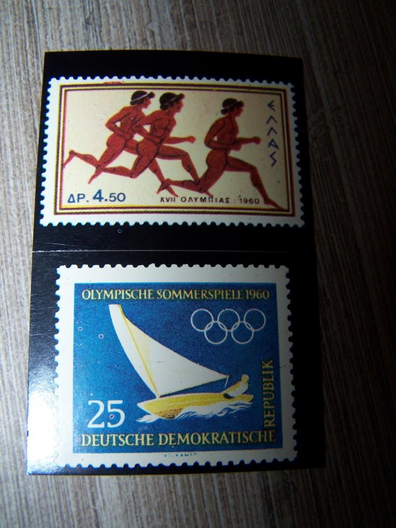 Neuve OLYMPIA 1896-1972 Panini Figurina Sticker Vignette Timbres A//B N›46